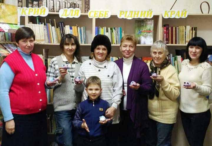 9 січня відбувся цікавий майстер-клас з виготовлення текстильної гольниці у вигляді веселої мишки