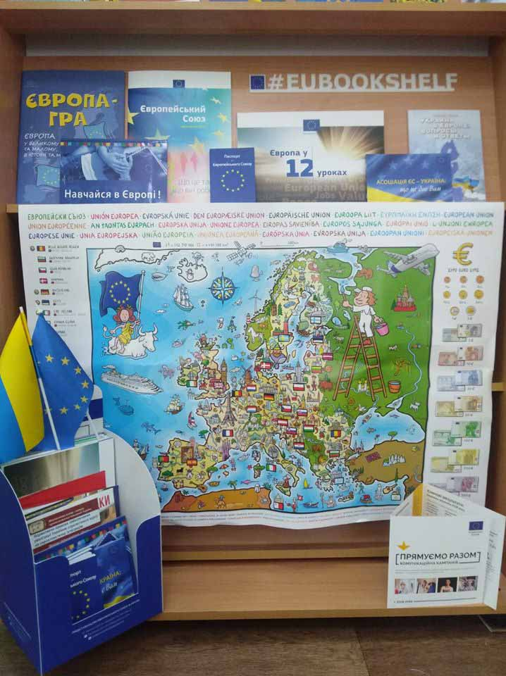#eubookshelf